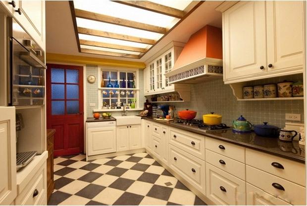 简约美家厨房装修设计_装修效果图-x团装修网图片