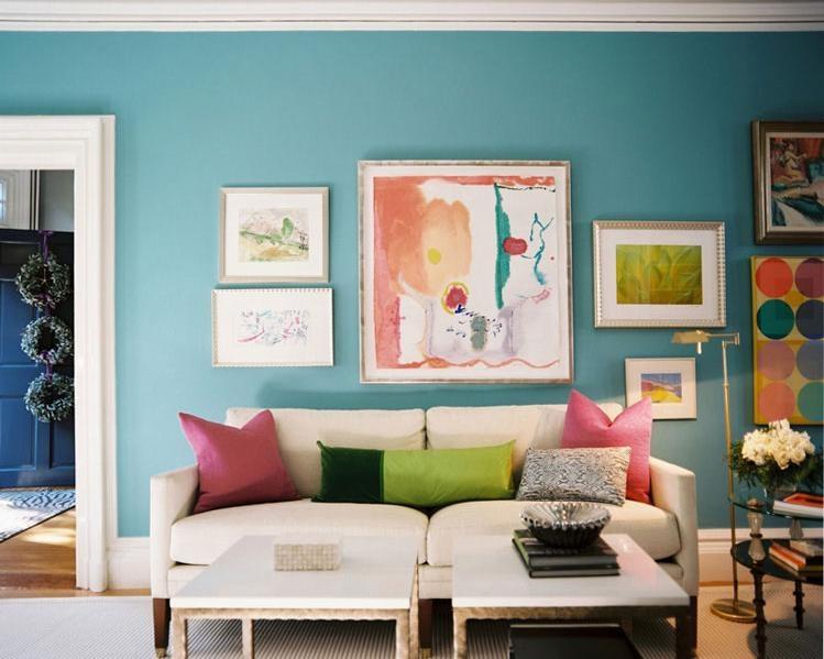 美式风格沙发背景墙设计装修效果图图片