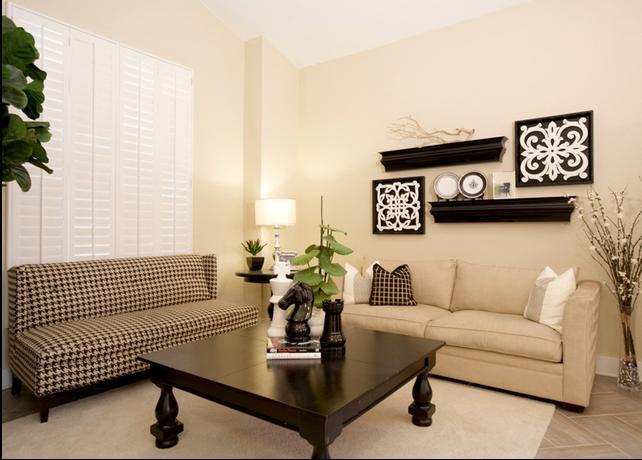 现代感极强的沙发背景墙设计装修效果图