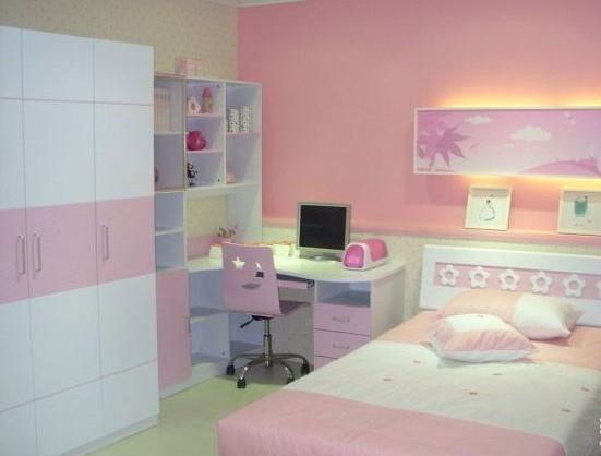 打造粉嫩小公主儿童房
