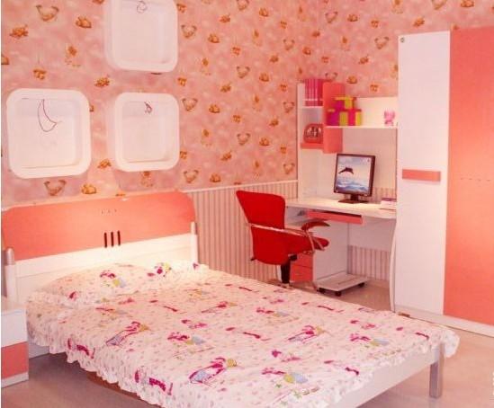 打造粉嫩小公主儿童房装修效果图