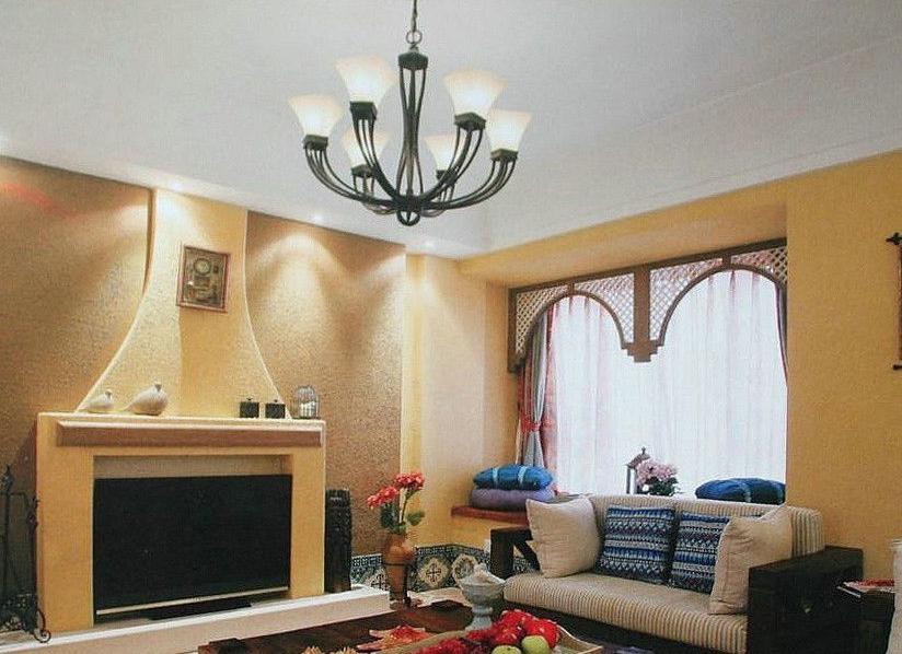 家居客厅装修效果图_装修效果图