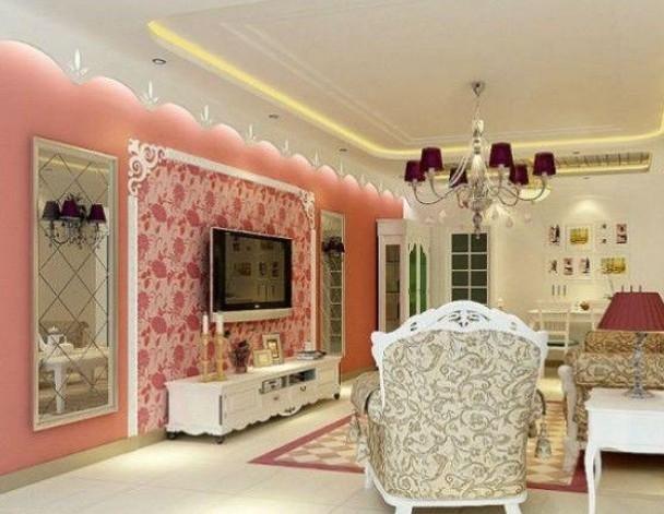 三室两厅 简欧风格装修效果图图片