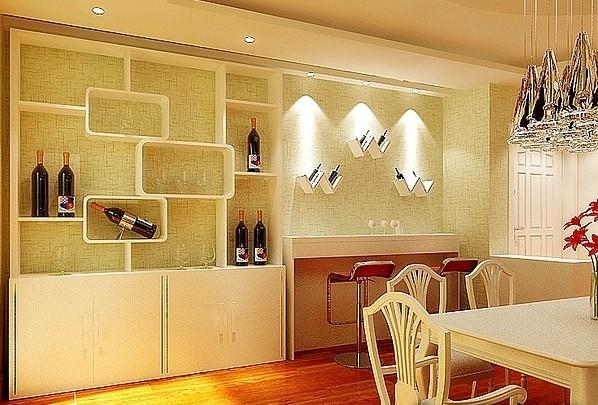 简约创意酒柜设计装修效果图图片