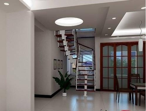 混搭家庭室内楼梯装修效果图图片