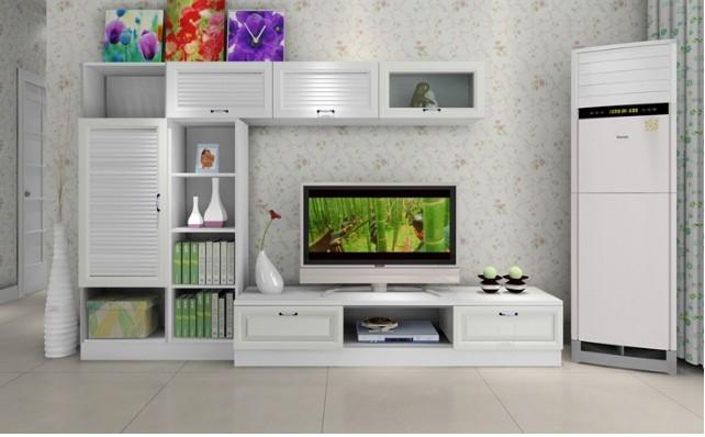 家庭普通电视图装修效果图