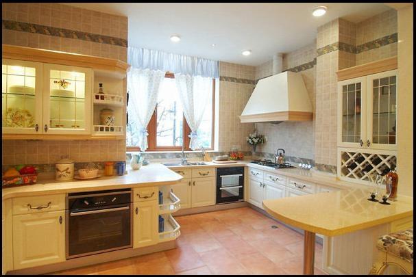家庭厨房图片