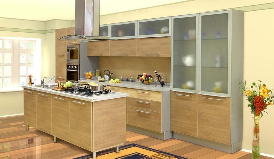 家庭厨房装修效果图