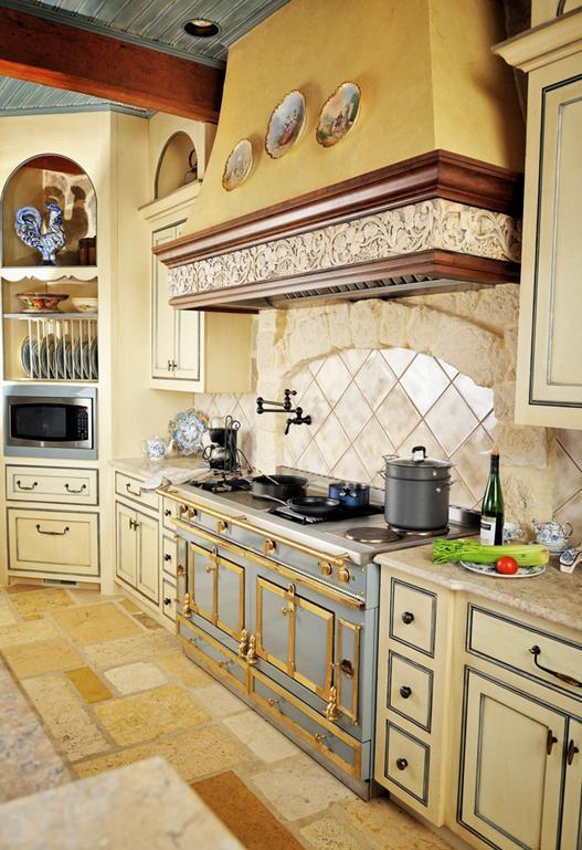 200平大户型敞开式厨房装修效果图