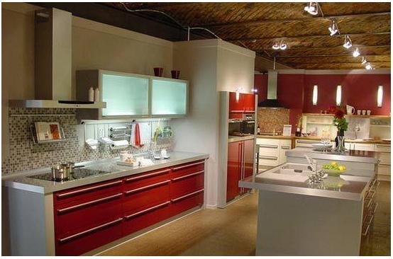 105平中式风敞开式厨房设计装修效果图图片
