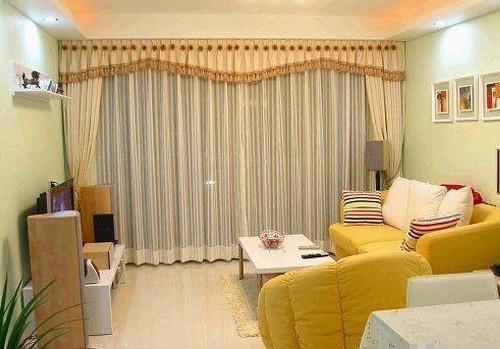 客厅窗帘 图片 卧室窗帘图片_装修效果图-x团装修网