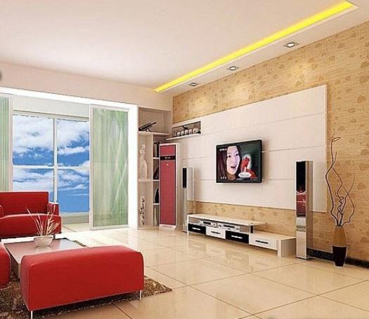 纵观全城的现代家居装修,以影视背景墙设计效果图 最为让人观注.