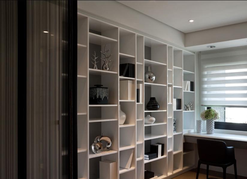 85平小户型书房设计装修效果图