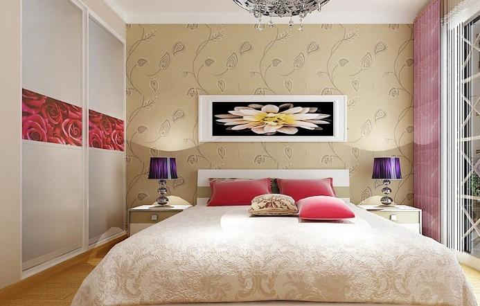 99平米简约主卧室设计