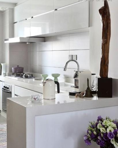 小户型迷你厨房设计装修效果图