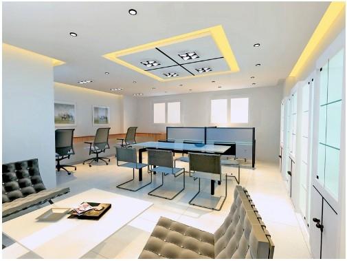 办公室装修效果图 办公室装修设计 _装修效果图-x团