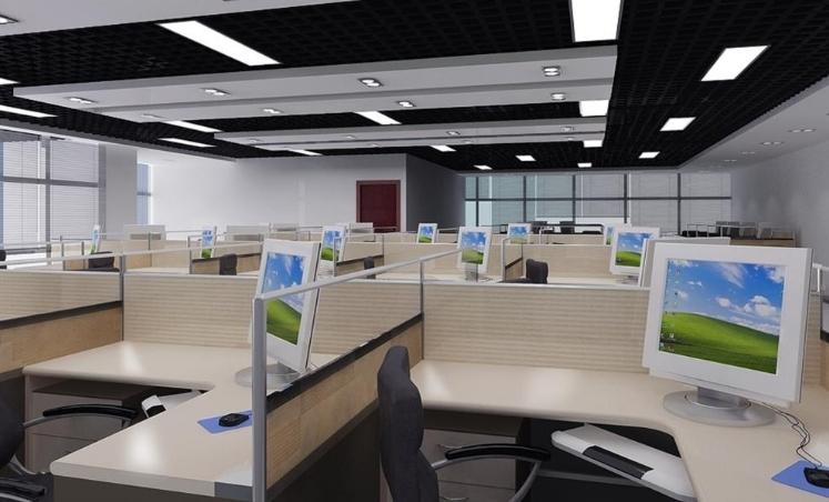 打造欧式风情办公室设计装修效果图