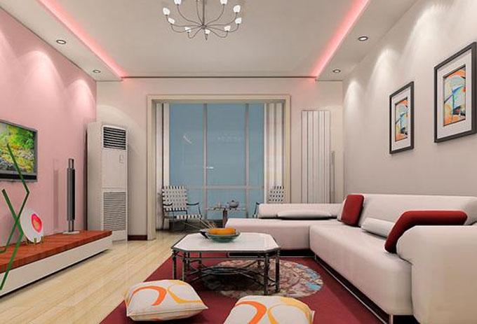 设计理念:在现代家庭中,客厅的作用正在逐步的丰富,无论的家人、朋友聚会,还是在家居会客等活动都要在客厅中进行,因此一个装修美观大方的客厅是非常有必要的。要装修出一个美观、大方的客厅,那么就不能忽视客厅天花板吊顶的作用,天花板吊顶的效果将直接与整个客厅的装修效果相辅相成,不同形态的天花板吊顶有着不同的效果。