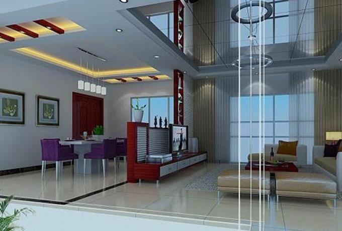 简单的客厅吊顶设计技巧装修效果图
