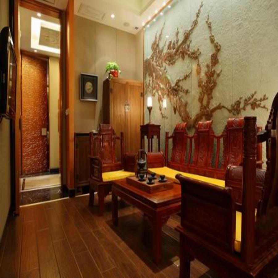 中式风格茶馆设计装修效果图