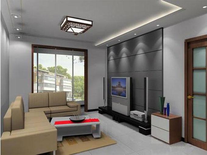 各种款式的客厅吊顶设计装修效果图