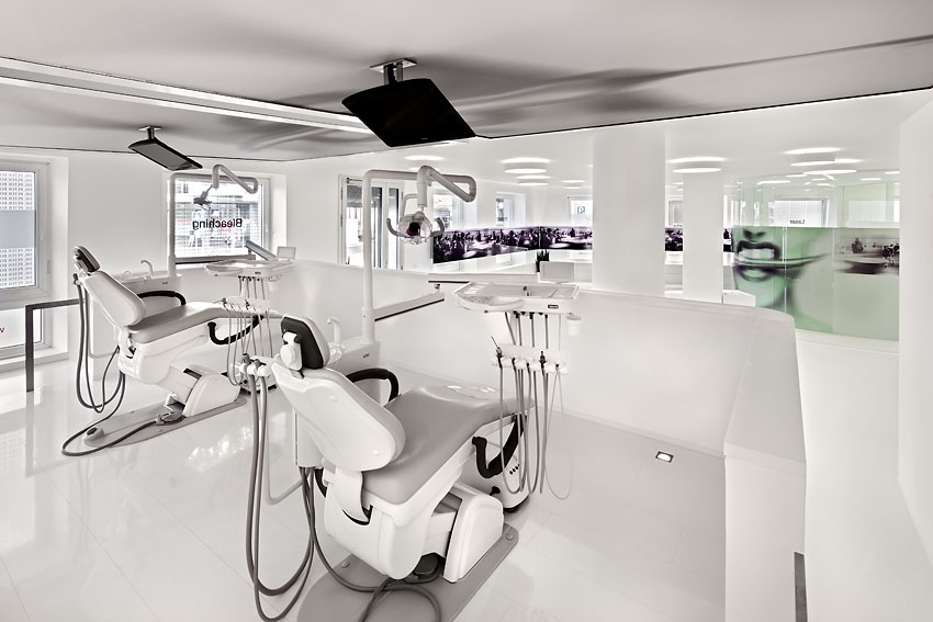 最新牙科医院室内装修效果图高清图片