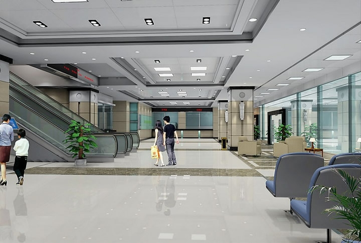 现代风格医院设计装修案例