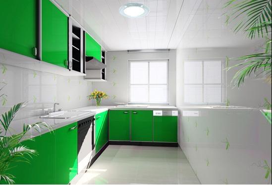如何清洗厨房集成吊顶装修效果图图片