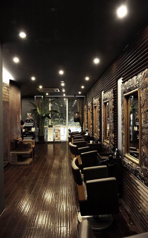 中式风格 理发店 理发店 -理发店装修效果图 理发店装修设计 装修效果图片