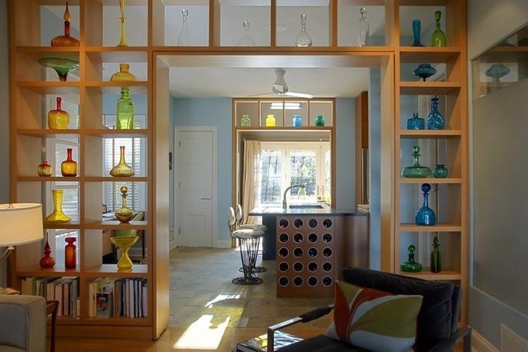 新古典风格隔墙柜设计