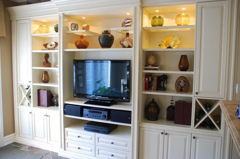 北欧风格隔墙柜图片