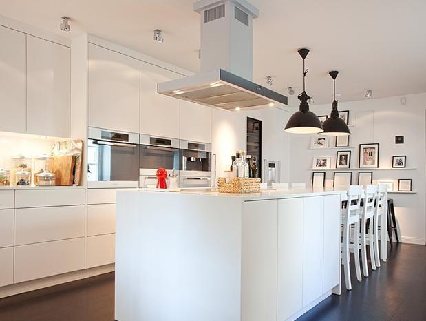 大户型家居的开放式厨房设计_装修效果图-x团装修网