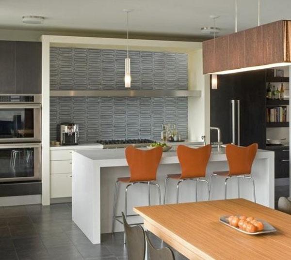 三室两厅美式风格厨房开放式厨房图片