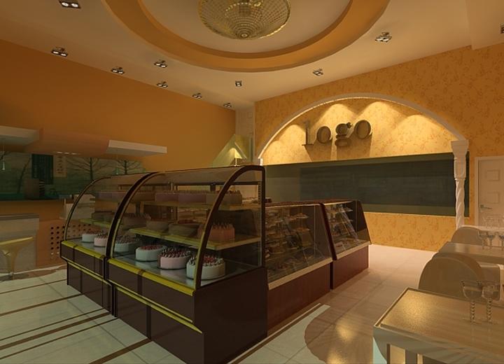 甜品蛋糕店设计装修效果图