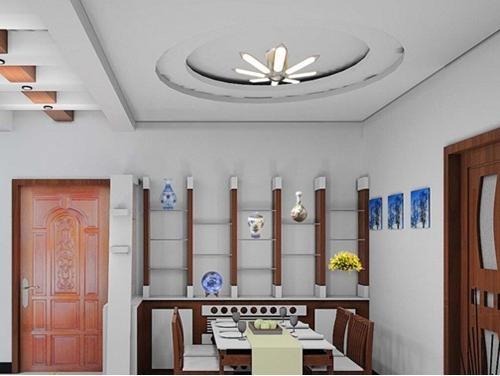 特色的餐厅吊顶设计装修效果图