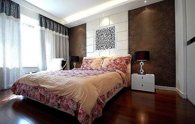 背景墙 房间 家居 起居室 设计 卧室 卧室装修 现代 装修 636_404