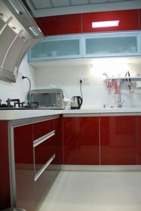 厨房推拉门_第35页; 厨房装修效果图;