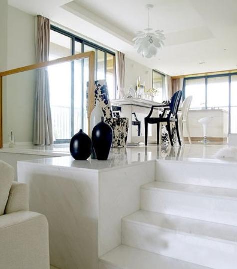 打造错层客厅装修设计