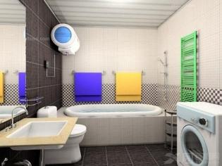 现代风格小户型厕所装修