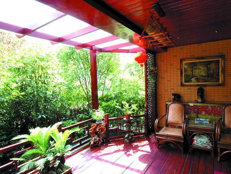 秘密花园阳台花园设计装修效果图