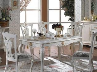 板式家具餐桌图片欣赏