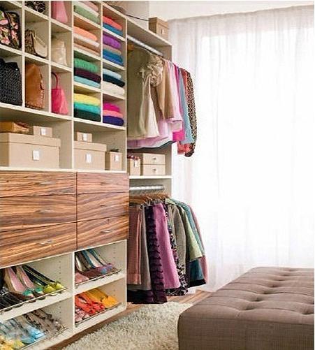 板式家具打造质感衣帽间