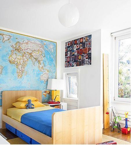 环保板式家具打造精致儿童房