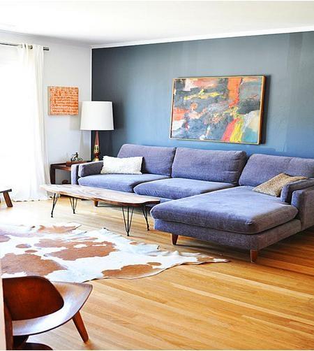 现代简约范儿客厅布置
