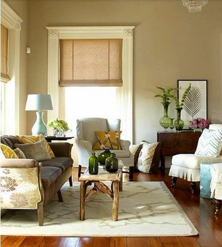 美观实用的客厅布置