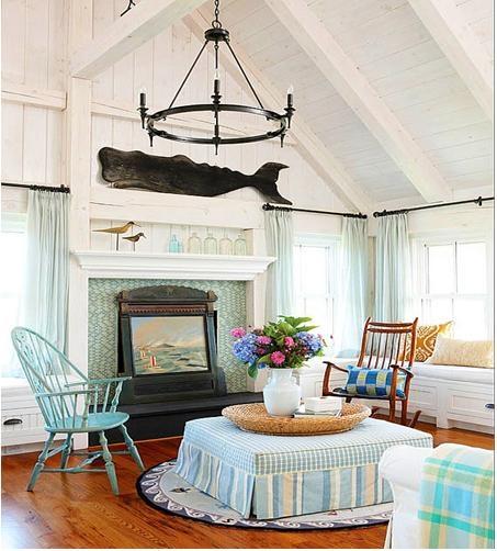 铁艺吊顶装饰创意客厅