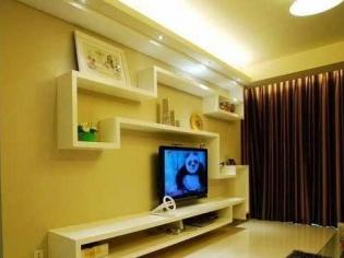 美观实用的影视墙装修