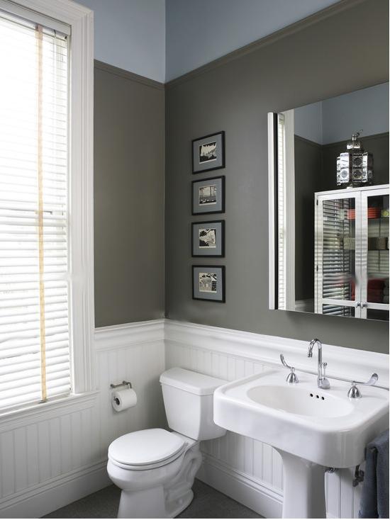 现代装修风格的卫生间