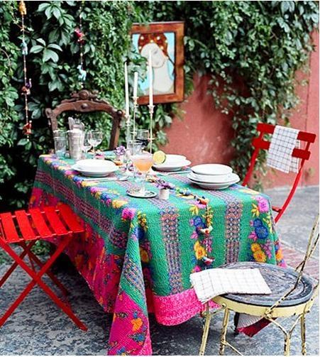 浪漫的露天餐厅设计