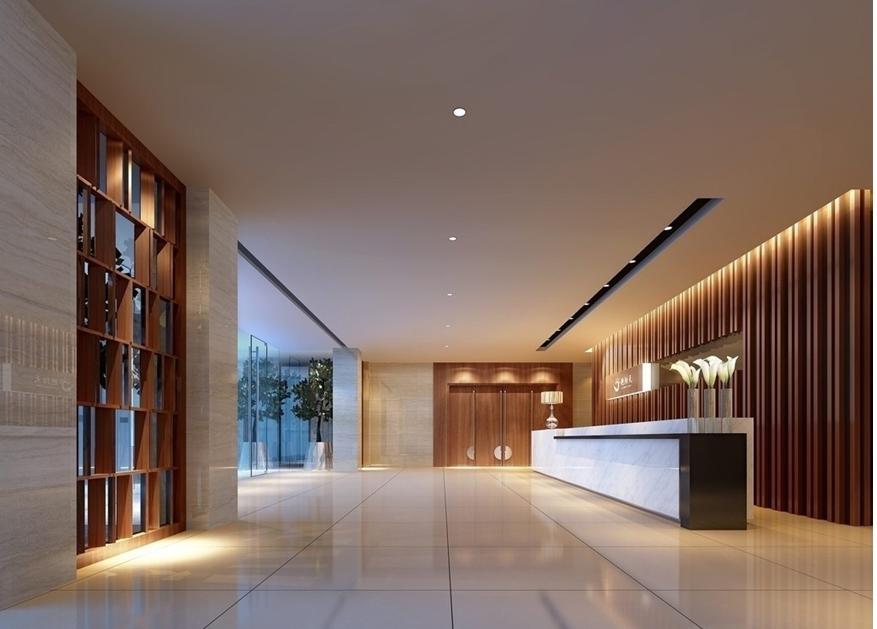 现代简约风格宾馆装修
